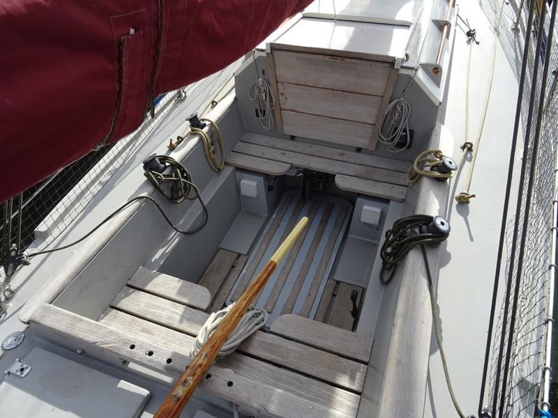 Kajuitzeilboten en Zeiljachten Crabber Cutter Pilot 30 foto 8