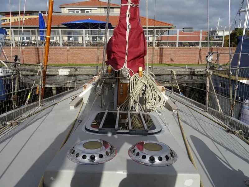 Kajuitzeilboten en Zeiljachten Crabber Cutter Pilot 30 foto 9